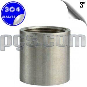 paslanmaz çelik 304 kalite 3 inç manşon