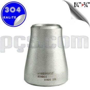 paslanmaz çelik 304 kalite konsantrik redüksiyon