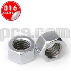 paslanmaz çelik 316 kalite inox a4 somun