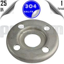 paslanmaz çelik 304 kalite baskılı flanş