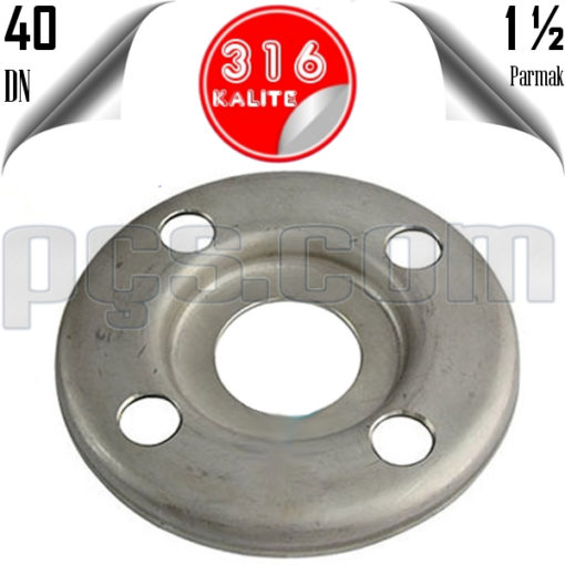 paslanmaz çelik 316 kalite baskılı flanş