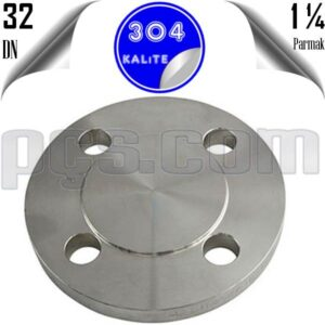 paslanmaz çelik 304 kalite kör flanş