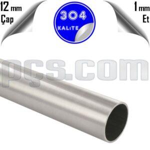 paslanmaz çelik 304 kalite parça boru