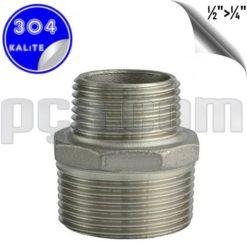 paslanmaz çelik 304 kalite nipel tip redüksiyon orantılı nipel
