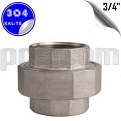 paslanmaz çelik 304 kalite dişli konik rekor