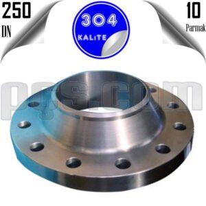 paslanmaz çelik 304 kalite boyunlu flanş
