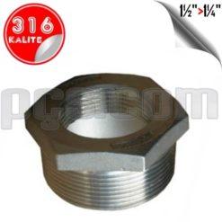 paslanmaz çelik 316 kalite bushing redüksiyon