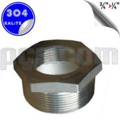 paslanmaz çelik 304 kalite bushing redüksiyon