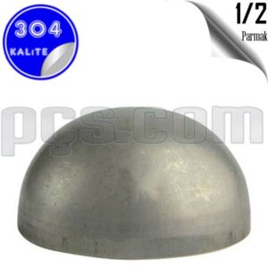 paslanmaz çelik 304 kalite 1/2 inç kep