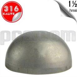 paslanmaz çelik 316 kalite 1 1/2 inç kep