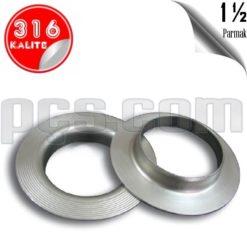 paslanmaz çelik 316 kalite 1½ inch yaka