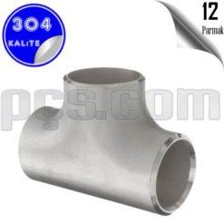 paslanmaz çelik 304 kalite 12 inç patent tee