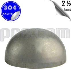 paslanmaz çelik 2 1/2 inç kep