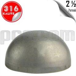 paslanmaz çelik 316 kalite 2 1/2 inç kep