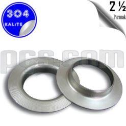 paslanmaz çelik 304 kalite 2 1/2 inç yaka